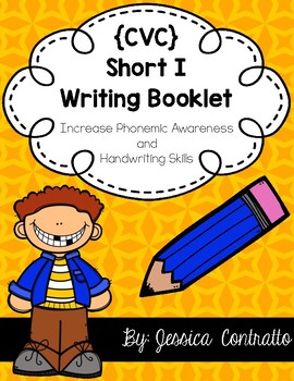 CVC Short I Writing Book