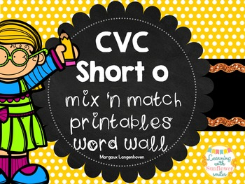 CVC Short O Flip booklet