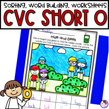 CVC Short O Phonics Unit