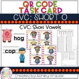 CVC: Short O QR Code Task Cards