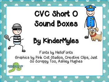 CVC Short O Sound Boxes