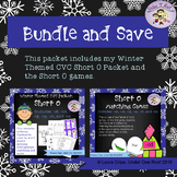 CVC Short O Winter Themed Bundle