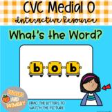 Digital Learning CVC Short O Write