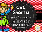 CVC Short U Flip booklet