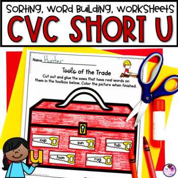 CVC Short U Phonics Unit