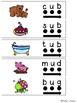 CVC Short U Word Family Activity and Blending Strips