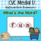 Digital Learning CVC Short U Write