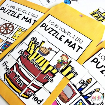 Long Vowel and Vowel Pair Activities | Puzzle Mats