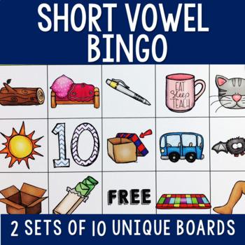CVC Short Vowel BINGO