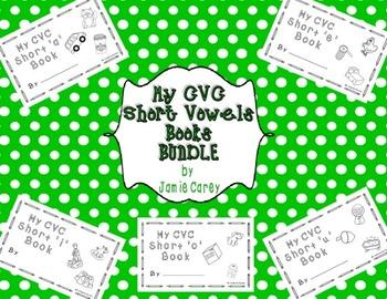 CVC Short Vowel Books BUNDLE