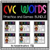 CVC Short Vowel Bundle: Worksheets and Games