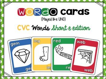 CVC Short Vowel Card Game Bundle