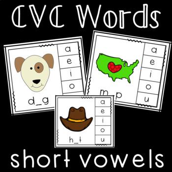 CVC Short Vowel Center Activity