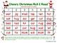 CVC Short Vowel Cheery Christmas Roll & Read