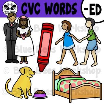 CVC Short Vowel Clip Art - ED