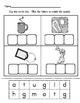 CVC Short Vowel Cut and Glue Literacy Center