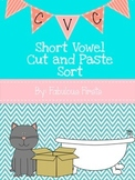 CVC Short Vowel Cut and Paste Vowel Sort