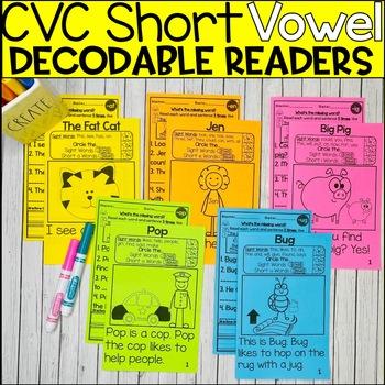 CVC Short Vowel Book Bundle