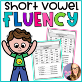 CVC Short Vowel Fluency Practice (Kindergarten and First Grade)