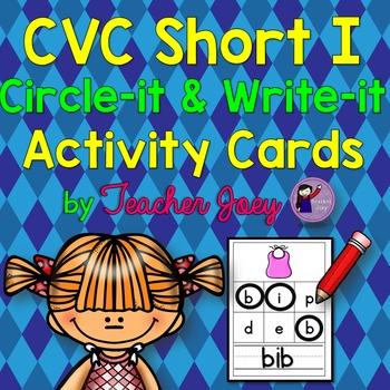 CVC Activity Cards