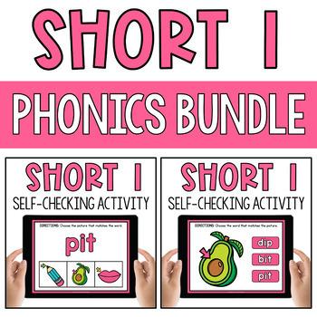 CVC Short Vowel I Word Work Paperless Interactive Google Classroom PPT BOOM Deck