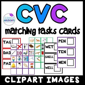 CVC Short Vowel Matching Task- SPED/AUTISM/ELEMENTARY