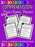 CVC Short Vowel Reading Comprehension Passages