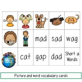 CVC Short Vowel Reading and Writing GROWING Bundle