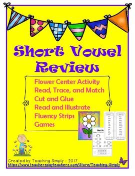 CVC Short Vowel Review Packet