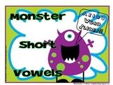 CVC Short Vowel Review Word Slides