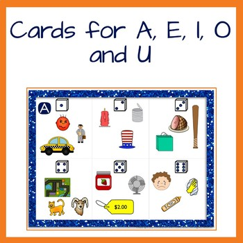 Short Vowel Roll and Write Phonics and Writing activity
