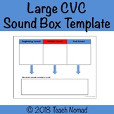 CVC (Short Vowel) Sound Box Template