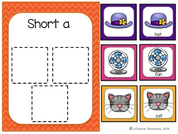 Short Vowels Activities / Literacy Center Bundle