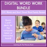 CVC & Short Vowel Word Families Review - Digital Phonics A