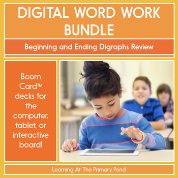 Beginning and Ending Digraphs Review - Digital Phonics Activities |BOOM Cards™