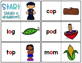 CVC Short Vowel Word Work Centers & Activities