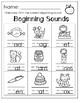 CVC Short Vowel Words. Centers/Worksheets. Kindergarten or First Grade.