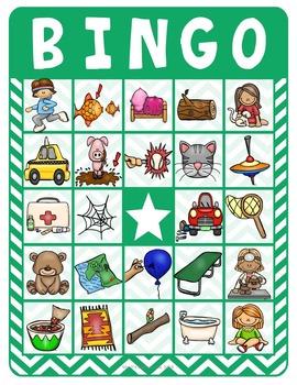 Short Vowel Bingo #2
