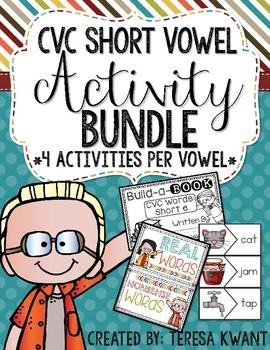 CVC Short Vowels Bundle