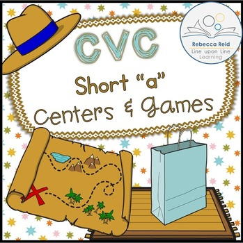 CVC Short a Centers and Games