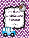 CVC Short 'a' Decodable Stories & Activities