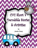 CVC Short 'a' Decodable Stories & Activities