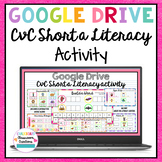 Literacy Activity CVC Short a for Google Classroom