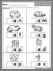 CVC: Short-A Segmenting {NO PREP Word Work}