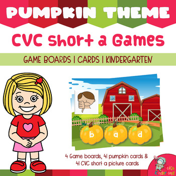 Build CVC Short a  Words Games | Fall Literacy Center