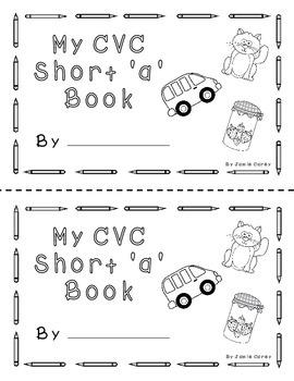 """CVC Short """"a"""" book"""