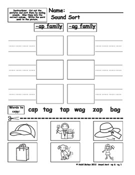 CVC  Short (-ad) Word Family Sample