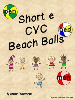 CVC Short e Beach Balls Card Game