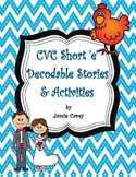 CVC Short 'e' Decodable Stories & Activities