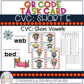 CVC: Short E QR Code Scavenger Hunt